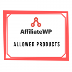 AffiliateWP - Allowed Products