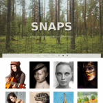 Graph Paper Press Snaps WordPress Theme