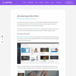 Astra Premium Sites by Brainstorm Force